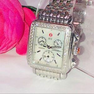 Michele Deco Diamond Women's Watch